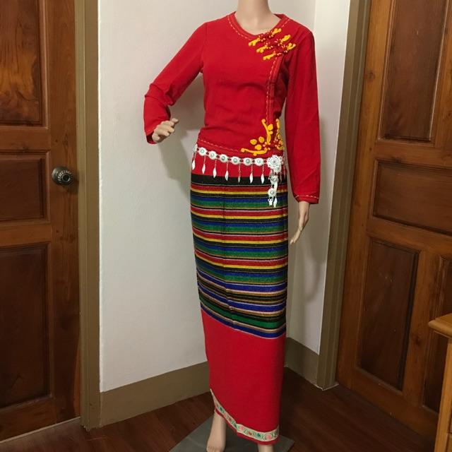 N001 ชุดไตผู้หญิง #ชุดพื้นเมืองชาย #ชุดพื่้นเมืองหญิง #ชุดไทยใหญ่ #เสื้อผ้าไทใหญ่ #ชุดผู้ชาย #ชุดผู้หญิง #ชุดงาน