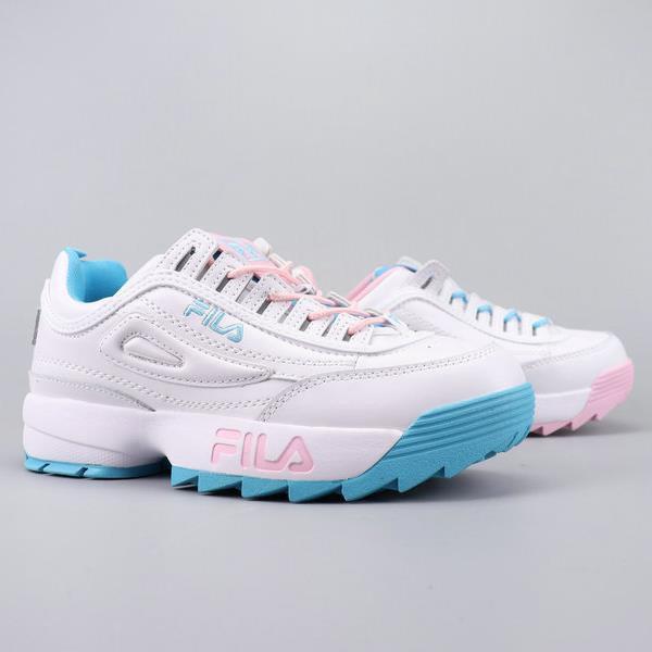 Fila DISRUPTOR รองเท้าผ้าใบรองเท้าวิ่งกันลื่น