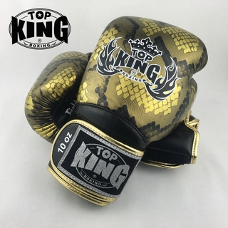 TOP KING BOXING GLOVES Topking gloves cowhide leather MMA KICKBOXING TK01 muaythai fighters professional man training