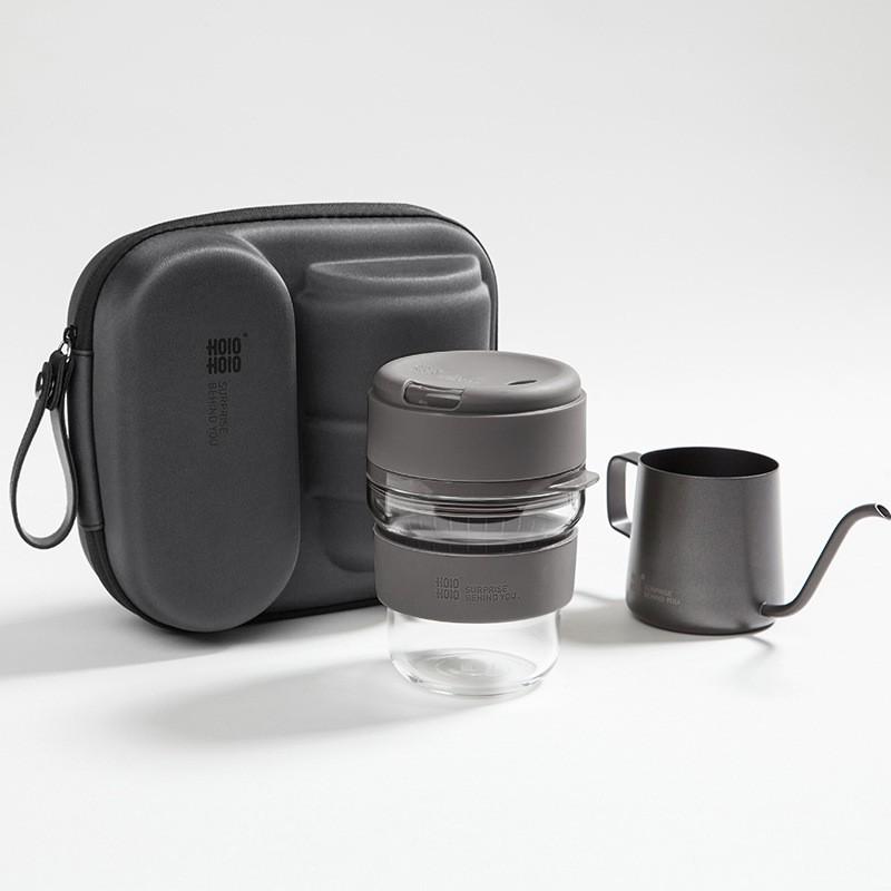 อุปกรณ์ชงกาแฟ ชุดถ้วยกาแฟทำมือแบบพกพา ชุดทำกาแฟสด กาต้มกาแฟ เครื่องชงกาแฟ กาต้มกาแฟสดแบบพกพา กาชงกาแฟ อุปกรณ์ครบ
