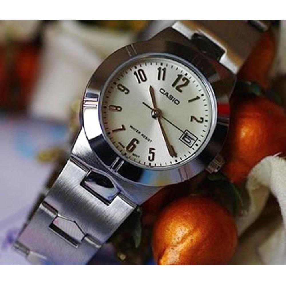 นาฬิกาข้อมือ นาฬิกาข้อมือแฟชั่น Casio ผู้หญิง สายสแตนเลส รุ่น LTP-1241D-7A2 - ม นาฬิกาข้อมือ นาฬิกาแฟชั่น(เลือกสีทักแชท)