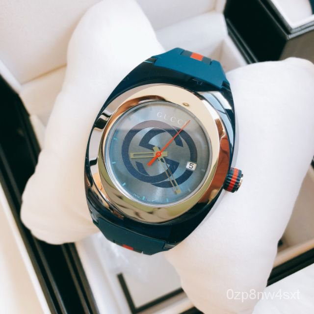 ☀Gucci Sync XXL Sun-Brushed  Dial Men's Watch