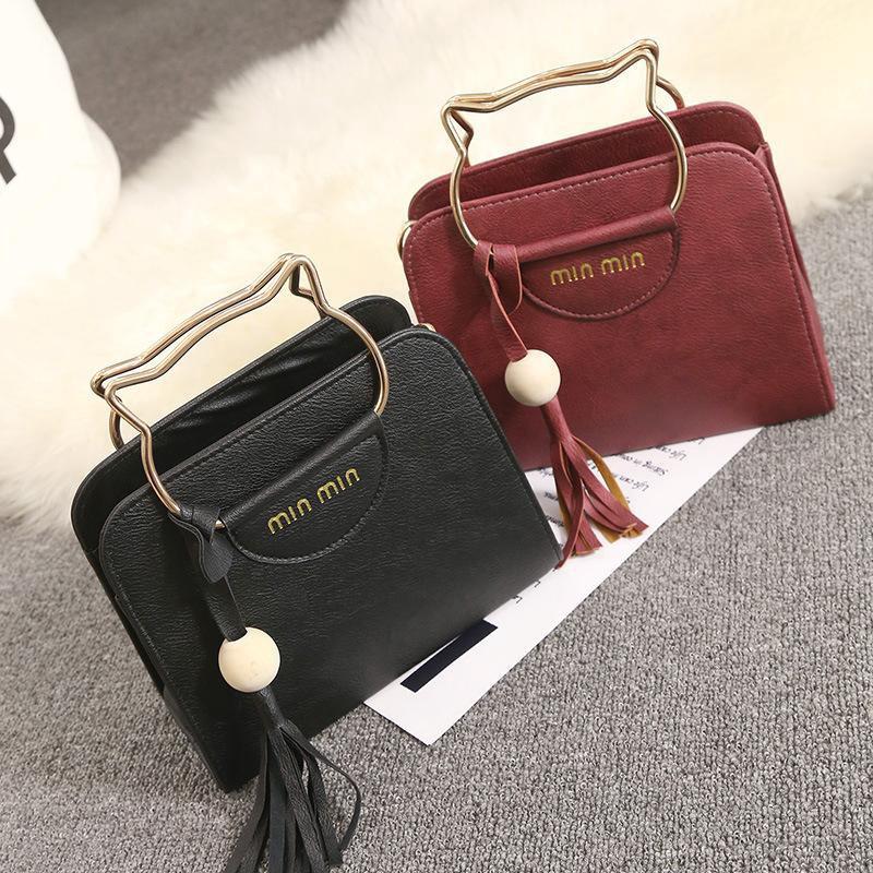 Mhmall กระเป๋าถือสไตล์เกาหลีย้อนยุค anello กระเป๋าสะพายข้าง coach พอ กระเป๋า sanrio gucci marmont gucci dionysus