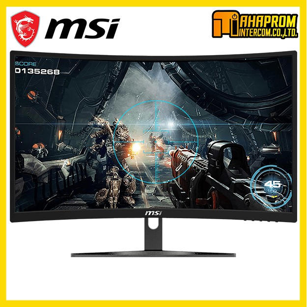 จอเกมมิ่ง Monitor  MSI Optix G241VC (VA, VGA, HDMI) 75Hz CURVE FreeSync 24 นิ้ว