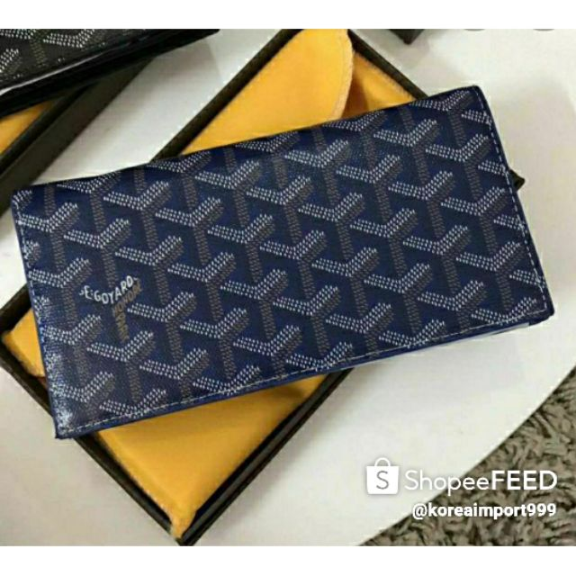 Goyard Long Wallet Leather