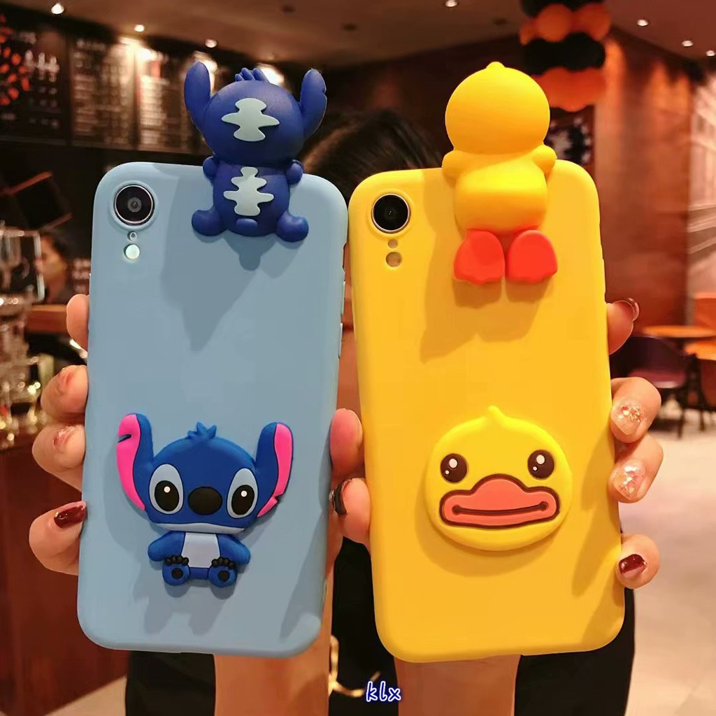 Xiaomi Mi 8 8 SE F1 Case 3D Cute Cartoon Doraemon Hello Kitty Soft Silicon Cover