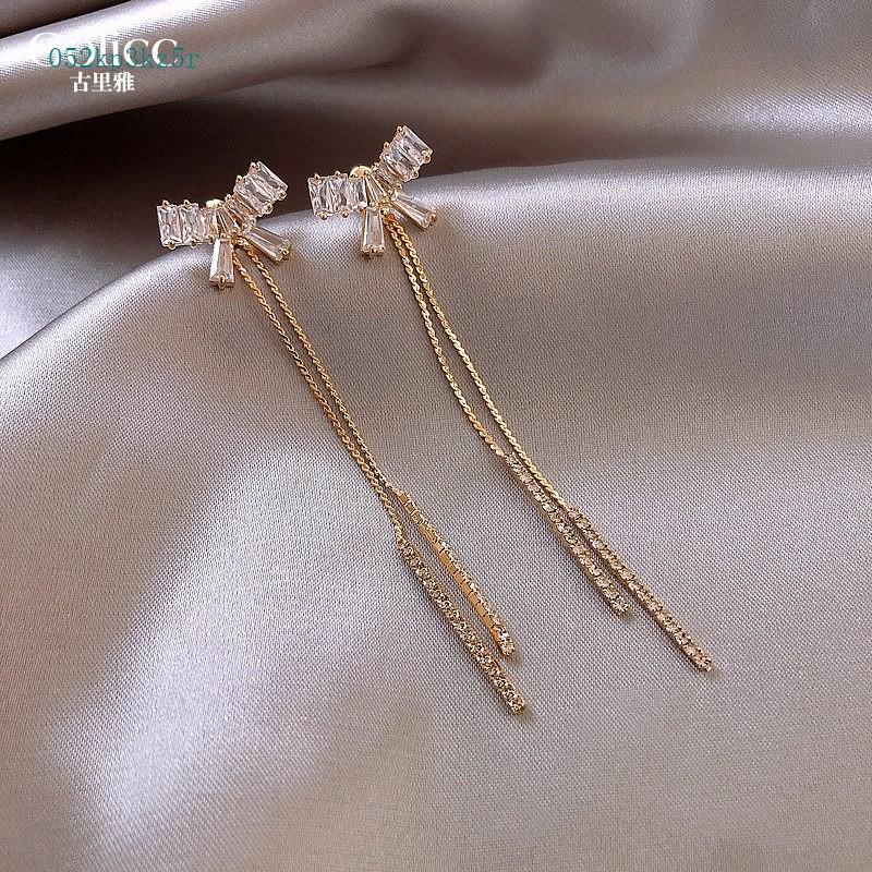 ต่างหู❅ราคาถูก❅ Golicc Guliya แฟนประโยชน์ชุบทองคำแท้ต่างหูเครื่องประดับขนาดเล็กลดราคา 5