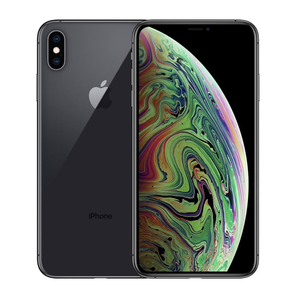 Original No Lock Apple Iphone Xs Max 256 Gb สมาร์ทโฟน A 12 ไบโอนิค Chip 6 . 5 นิ้วหน้าจอเต็ม