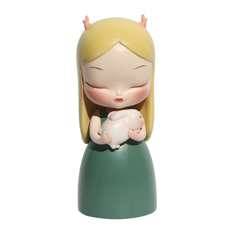 ✜❉♟Anime Figure Model Garage-Kit Fairy-Tale Toys Doll Desktop-Ornaments Cat General-Series