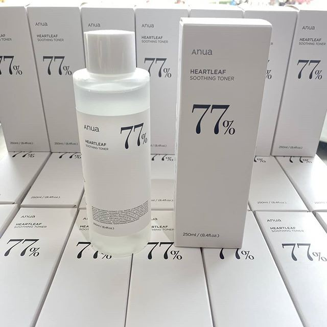 🔥 พร้อมส่ง 💕 ANUA Heartleaf 77% Soothing Toner 250ml