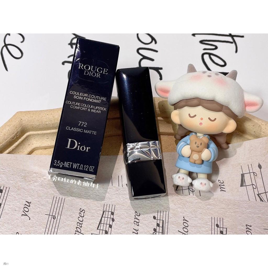 ☾✴Spot Dior Flame Blue Gold Lipstick Matte / Velvet 999/772/814/720/840