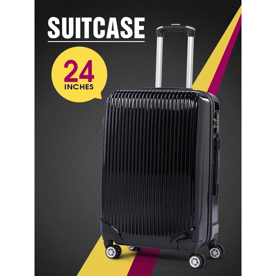 🔥COD🔥 กระเป๋าเดินทางแบบล้อลาก กระเป๋าเดินทาง กระเป๋าเดินทาง 24 นิ้ว