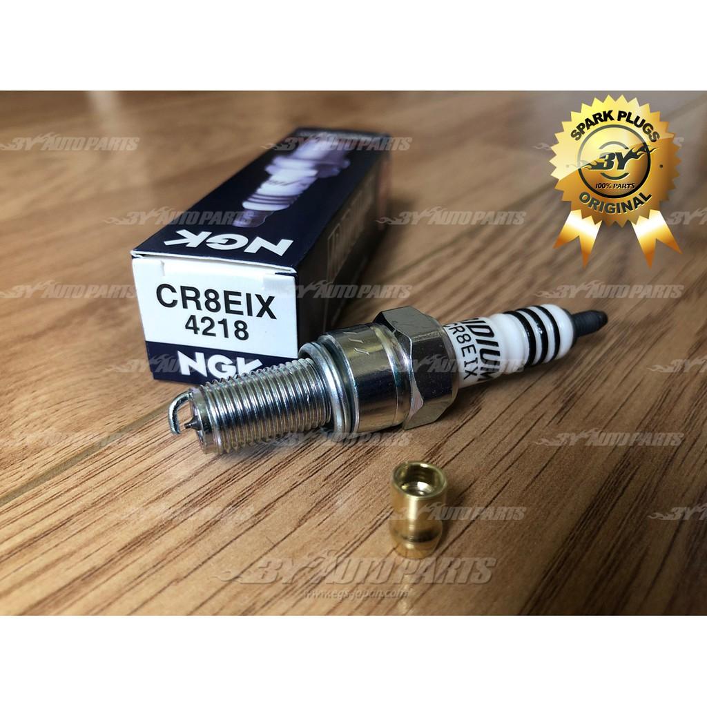 Pack of 1 CR8EIX Iridium IX Spark Plug 4218 NGK
