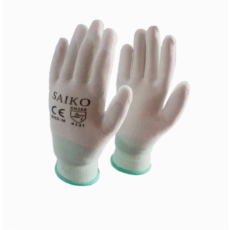 ?? ถุงมือไนล่อนเคลือบ PU เต็มฝ่ามือ ?? (ราคาต่อคู่)