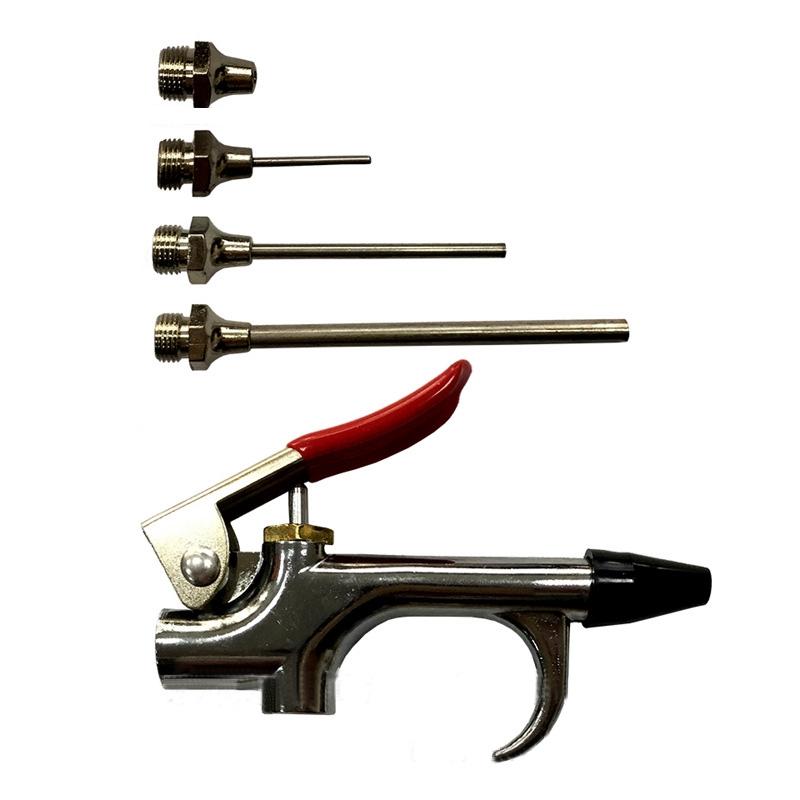 Air Blow Gun Kit Compressor Nozzle Needle Blower up Tip Comfortable 1PC Tools