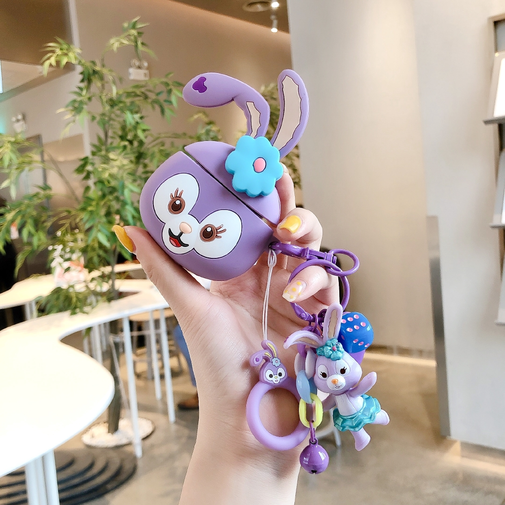 Cartoon Airpods 1 2 3 Case Pro Wireless Bluetooth for Apple Airpods2 Airpods Pro Silicone Case Corgi Cover Charging Headphones Case With Cute Pendant