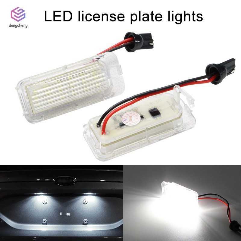 1x Toyota Yaris MK1 Bright Xenon White LED Number Plate Upgrade Light Bulb