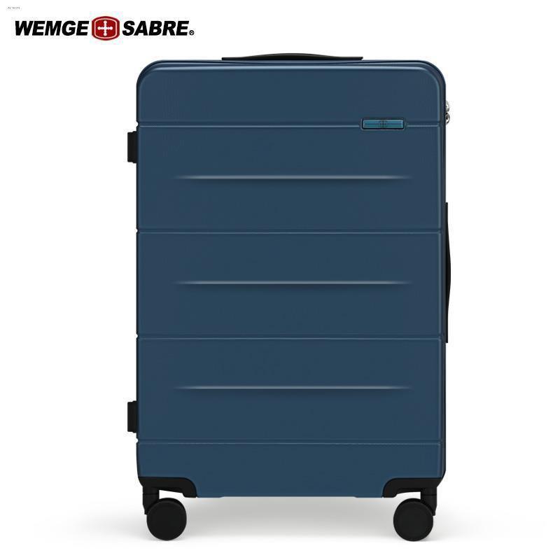 ♗㍿♗กระเป๋าเดินทางมีดทหารสวิส กระเป๋าเดินทางชาย กระเป๋าเดินทางล้อลาก หญิง 24 นิ้ว กล่องรหัสผ่าน กระเป๋าเดินทาง 20 นิ้ว มี