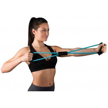 ยางยืดออกกำลังกาย Resistance Band ผ้ายืดออกกำลังกาย ยางยืดแรงต้าน  ยางยืดออกกำลังกายแรงต้านสูง