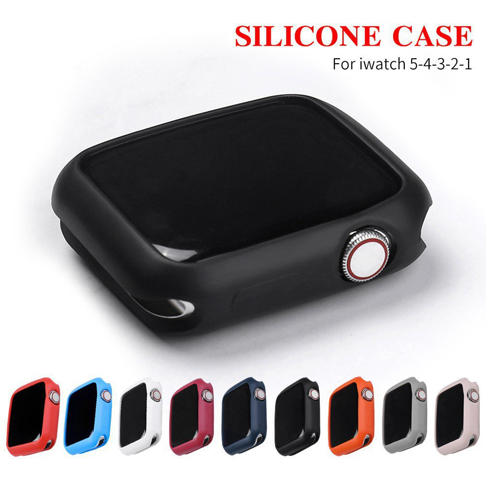 【24H SHIPS】Apply to Apple Watch 6 SE 5 4 40MM 44MM ProBefit Candy Soft Silicone Case suitable for iWatch 3 2 1 42MM 38MM Cover Protection Shell