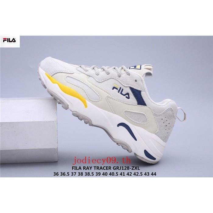 💯ของแท้  FILA RAY TRACER รองเท้าผู้ชายและผู้หญิง รองเท้าวิ่ง รองเท้ากิฬา รองเท้าแฟชั่น ทนทาน รองเท้าใสสบาย แนะนำนักกีฬา