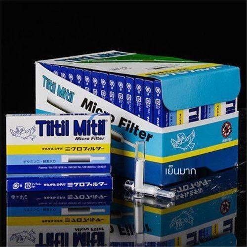 ที่ใส่บุหรี่✑♛☸Tiltilmitil Japanese Blue Bird Cigarette Holder Filter Men s Disposable 300