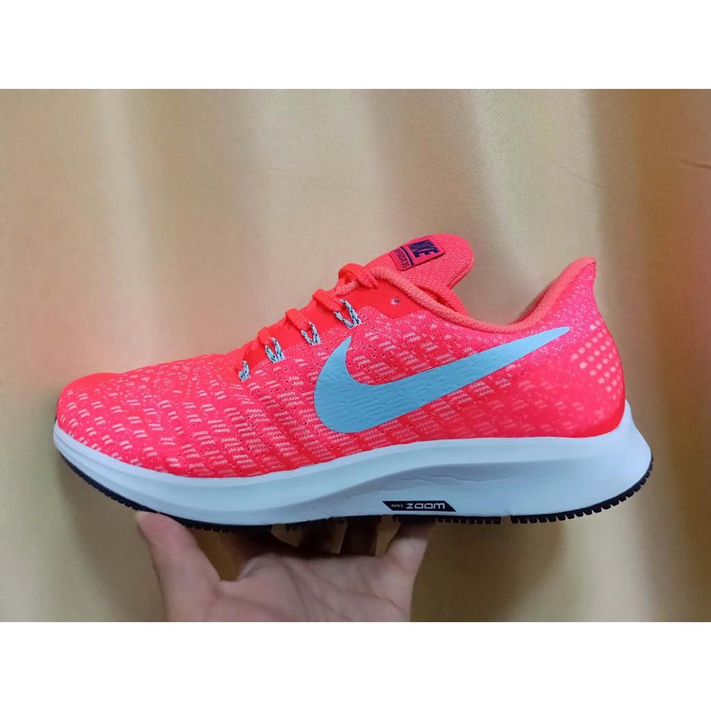 reputable site 017b2 ac74c 100% ของแท้ Nike Air Zoom Structure 35 รองเท้ากีฬา รองเท้าเบา  ตาข่ายระบายอากาศรองเท้าวิ่ง สร้างด้วยเบาะอากาศ