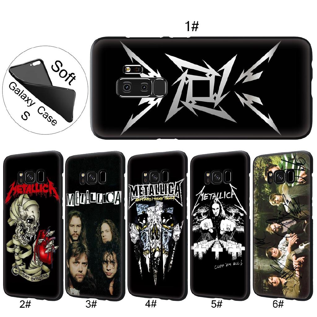 coque galaxy s6 edge metallica