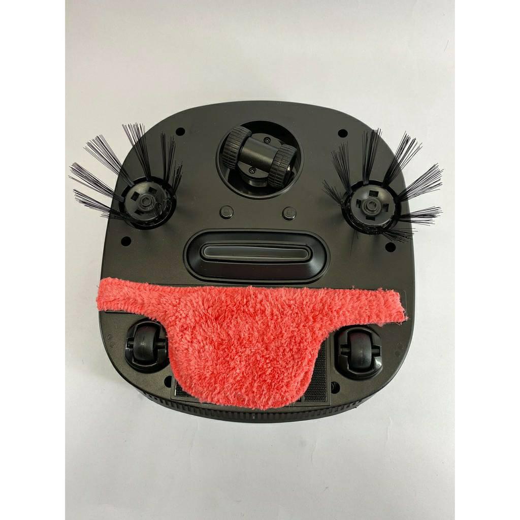 หุ่นยนต์ดูดฝุ่น เครื่องดูดฝุ่นอัจฉริยะ Robot Vacuum Cleaner รุ่น WY-502 ระบบ 2in 1 3yMh