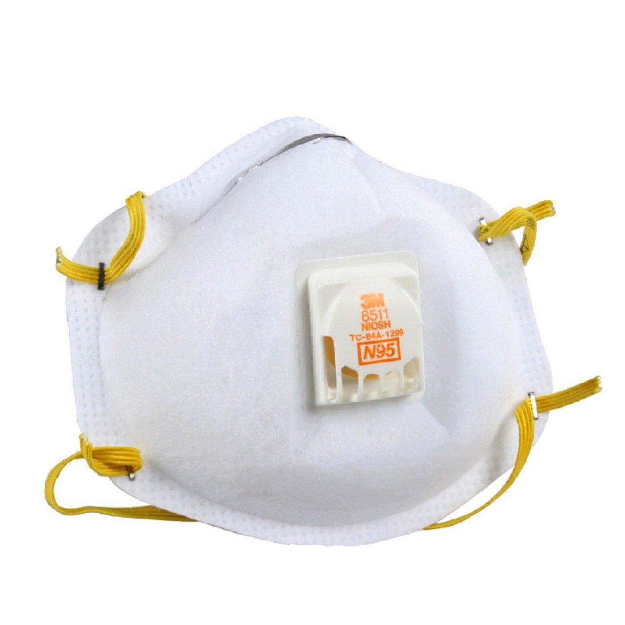 3mหน้ากาก kn95วาล์วหายใจ8511อุตสาหกรรมฝุ่นอย่างเป็นทางการป้องกันHoneywell8210หมอกและหมอกควันN95