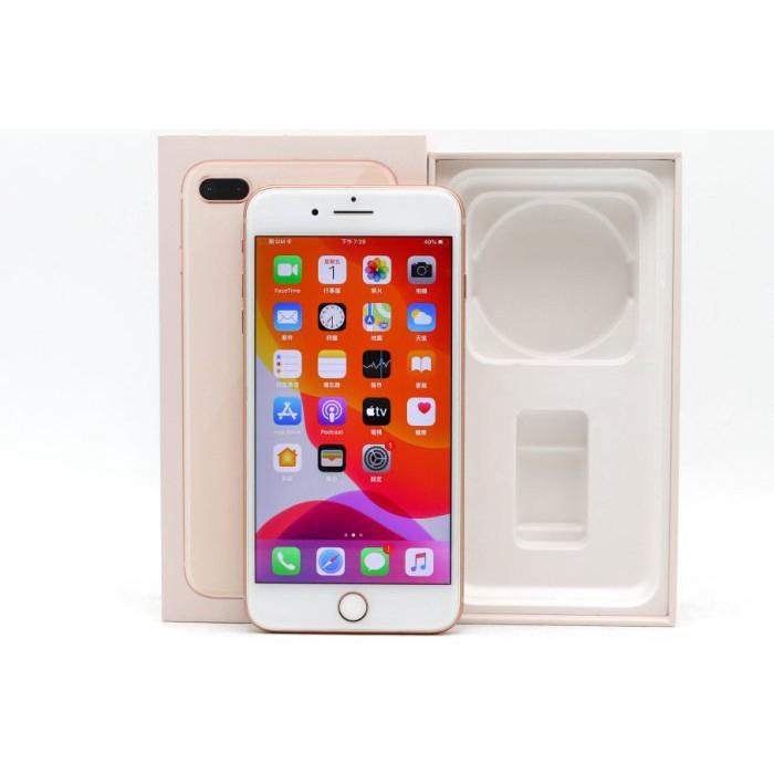Iphone 8 Plus โทรศัพท์มือถือมือสองสีทอง 64GB 256GB