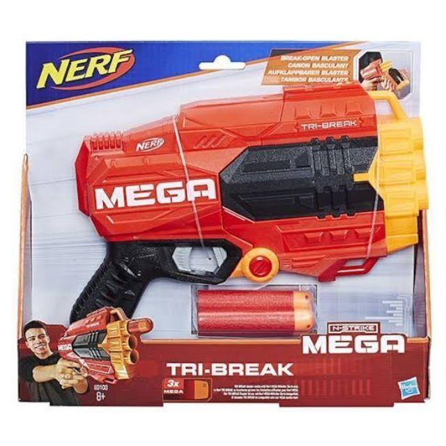 Nerf N-Strike Mega Tri-Break Blaster Gun ปืนเนิร์ฟ เมก้า TriBreak