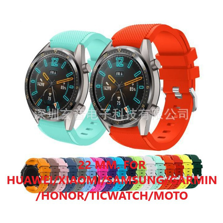 สาย applewatch แท้ สาย applewatch (พร้อมส่ง) สายนาฬิกาเรซิ่น ขนาดความกว้าง 22 MM.