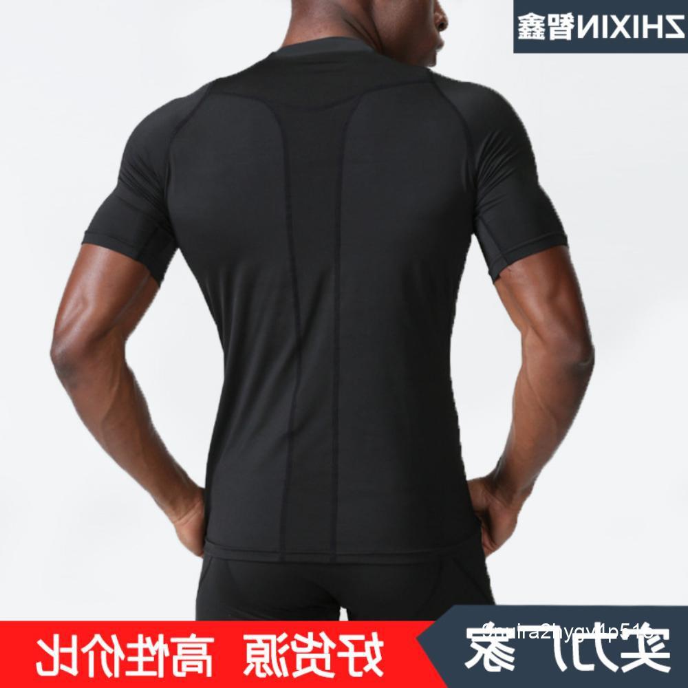 ชุดออกกำลังกายที่ระบายอากาศได้ดีและแห้งเร็วชุดออกกำลังกายสำหรับฝึกวิ่งสำหรับเสื้อยืดแขนสั้น