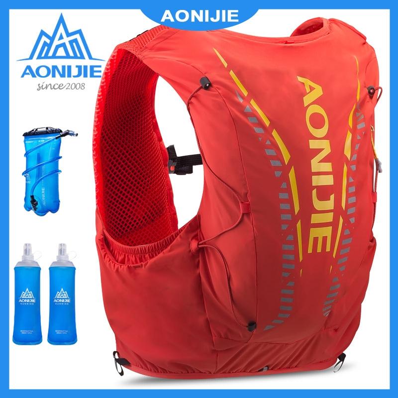 Aonijie Advanced 12 L กระเป๋าเป้สะพายหลังเหมาะกับการพกพาเดินทางปีนเขา C 962