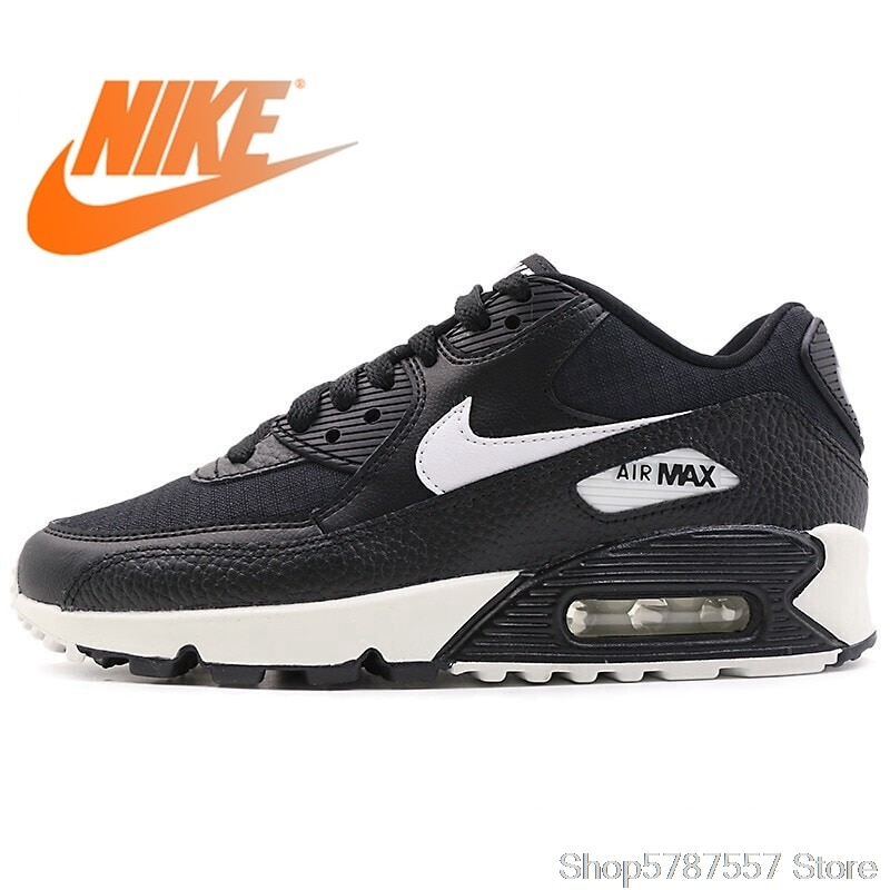 Official Authentic NIKE Air Max 90 Women's Running Shoes Outdoor Sports Shoes Trend New Sports Shoes Airmax 90 Women 325