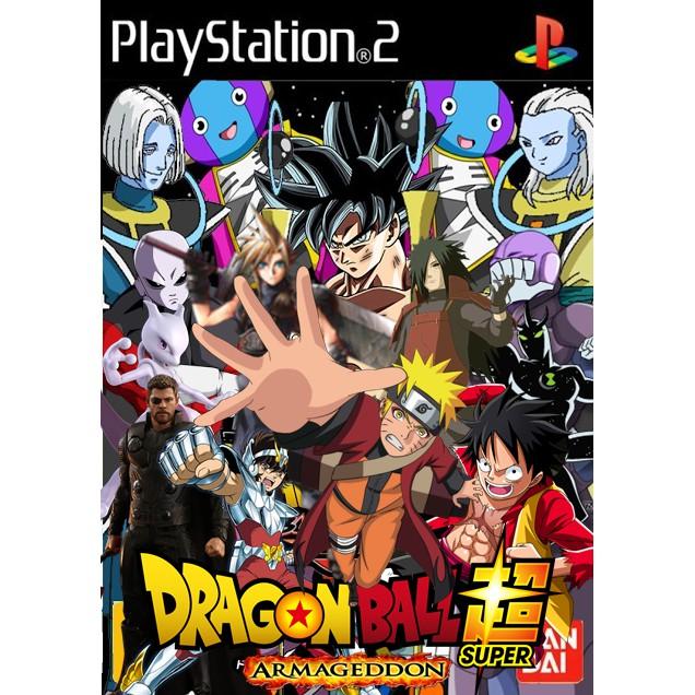 แผ่นเกมส์ Dragonball Z 3 Armageddon เล่นกับเครื่องPS2