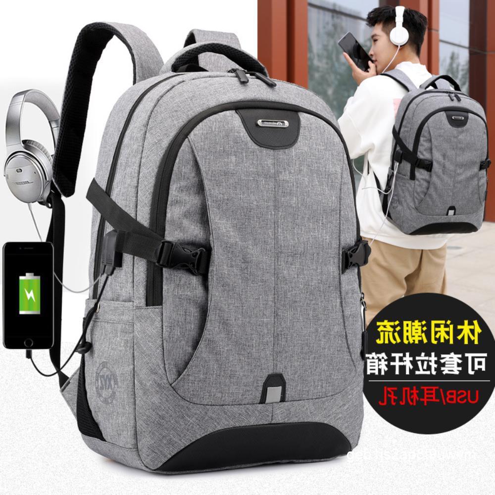 กระเป๋าคอมพิวเตอร์ป้องกันการโจรกรรมผู้ชาย 15.6 นิ้วกระเป๋านักเรียนกระเป๋าเดินทางกลางแจ้ง