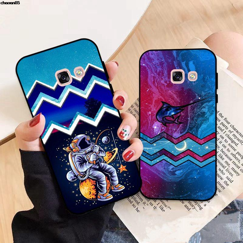 Samsung A3 A5 A6 A7 A8 A9 Pro Star Plus 2015 2016 2017 2018 HTKT Pattern-2 Silicon Case Cover