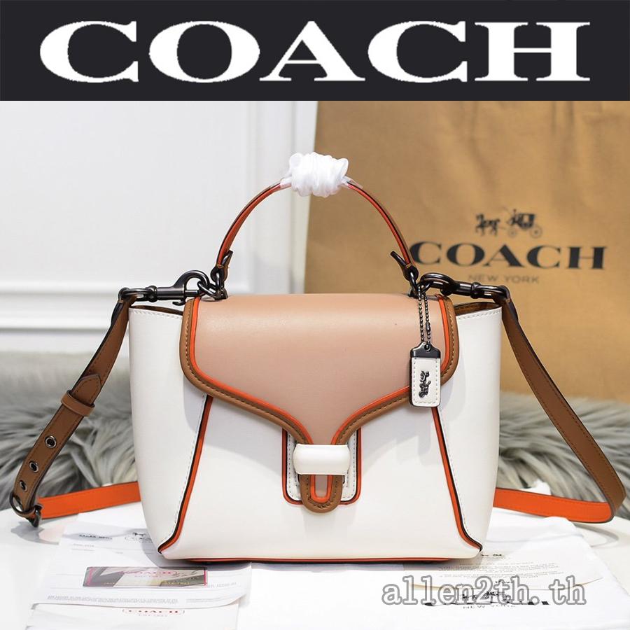กระเป๋าผู้หญิง Coach แท้ F702 Sling Bag / กระเป๋าถือผู้หญิง / กระเป๋าสะพายข้าง / crossbody bag / กระเป๋า forever young