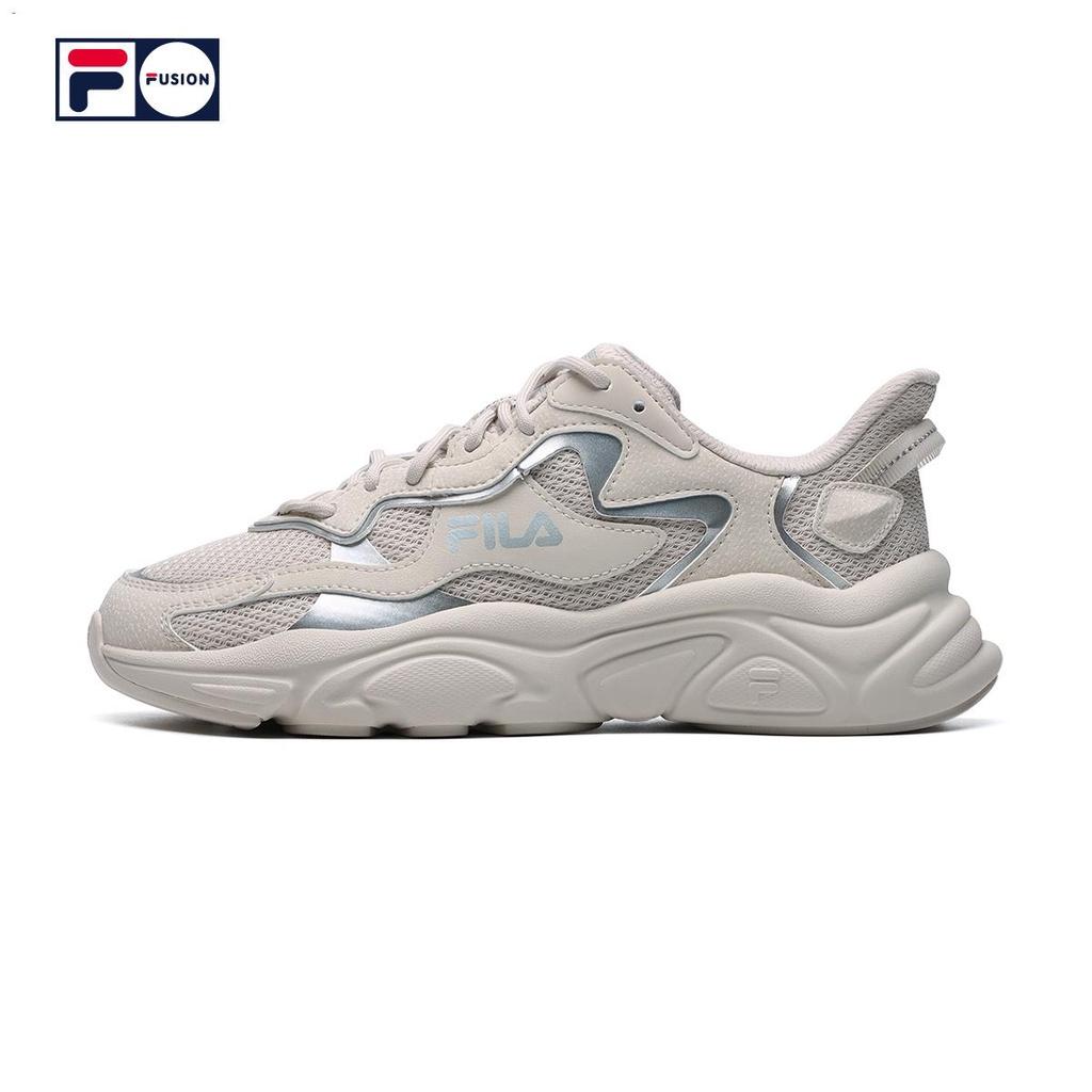 ✾✱△FILA FUSION แฟชั่นแบรนด์รองเท้าเก่าผู้หญิง 2021 ฤดูร้อนใหม่ Martian รองเท้ากีฬารองเท้าผู้หญิงรองเท้าวิ่ง