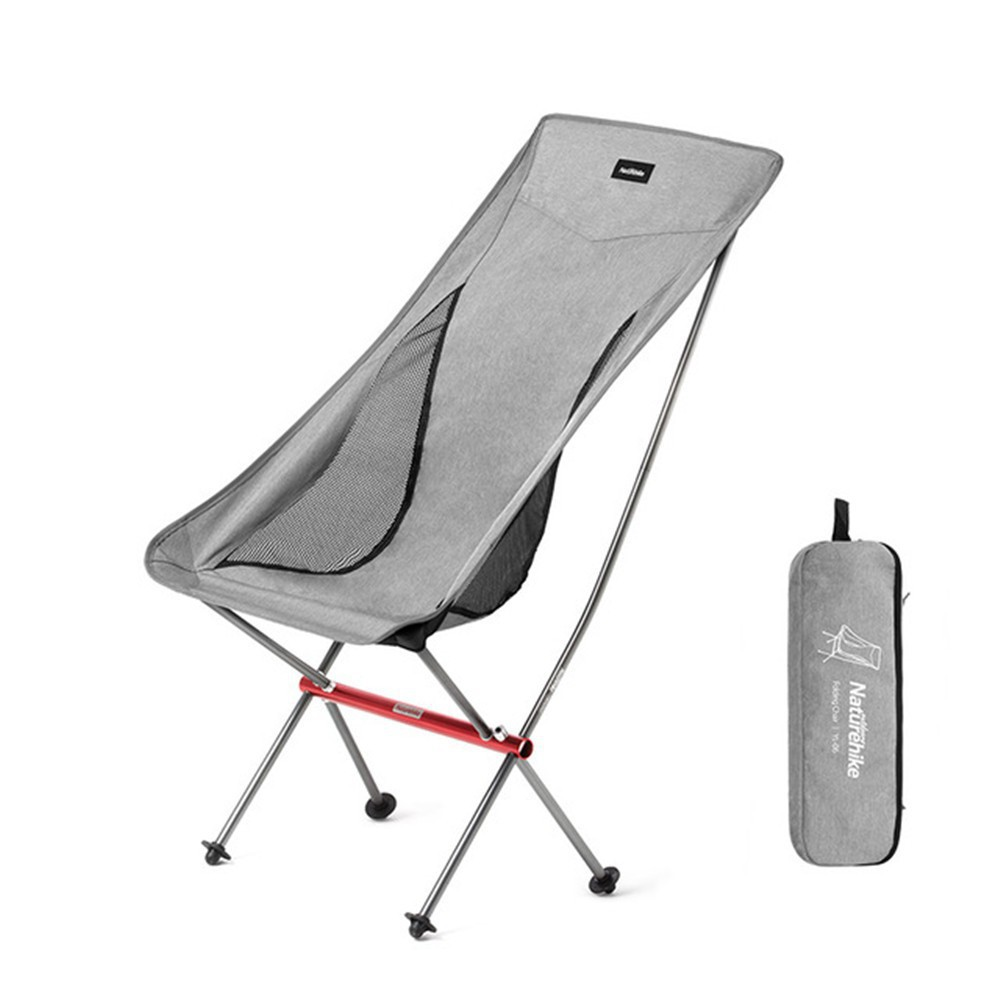 Naturehike Outdoor Portable Chair Ultra Light Folding Chair Camping Beach Chair