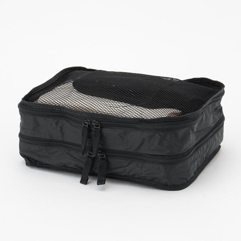 ♖⅛กระเป๋าเดินทางล้อลากกระเป๋าเป้เดินทางกระเป๋าเดินทางMUJI ร่มร่อนผ้าทอกระเป๋าเดินทางพับเก็บได้สองชั้นแบบ S