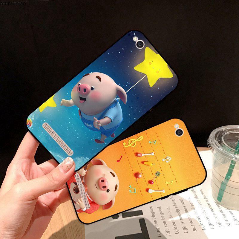 Samsung A3 A5 A6 A7 A8 A9 Pro Star Plus 2015 2016 2017 2018 Wish Pig Silicon Case Cover