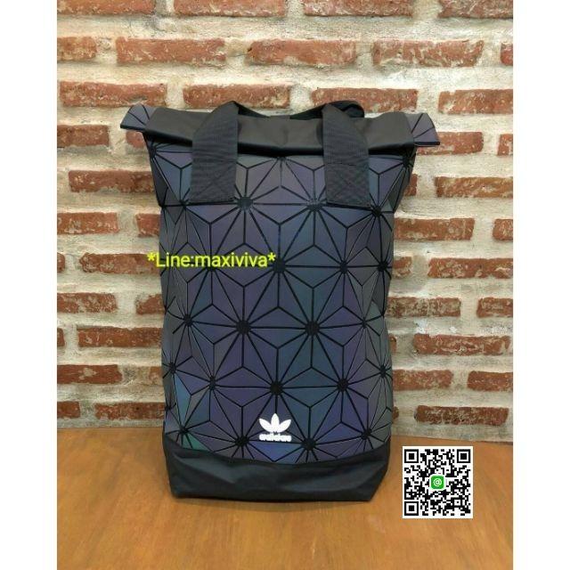 ติดต่อร้านก่อนสั่งซื้อ🌸 Adidas 3D Roll Top Backpack Y2018 Outlet หูคู่ - ราคาพิเศษ