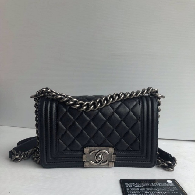 Used Chanel boy 8""