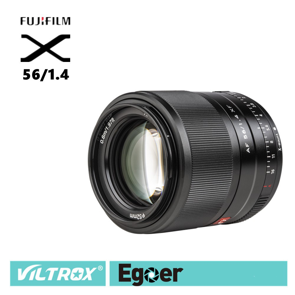 ❉✈✟☋▩Viltrox 56mm F1.4 STM เลนส์ออโต้โฟกัส Fuji X-Mount Mirrorless cameras X-Pro3 X-T2 X-T3 X-T4 X-T20 XT-30