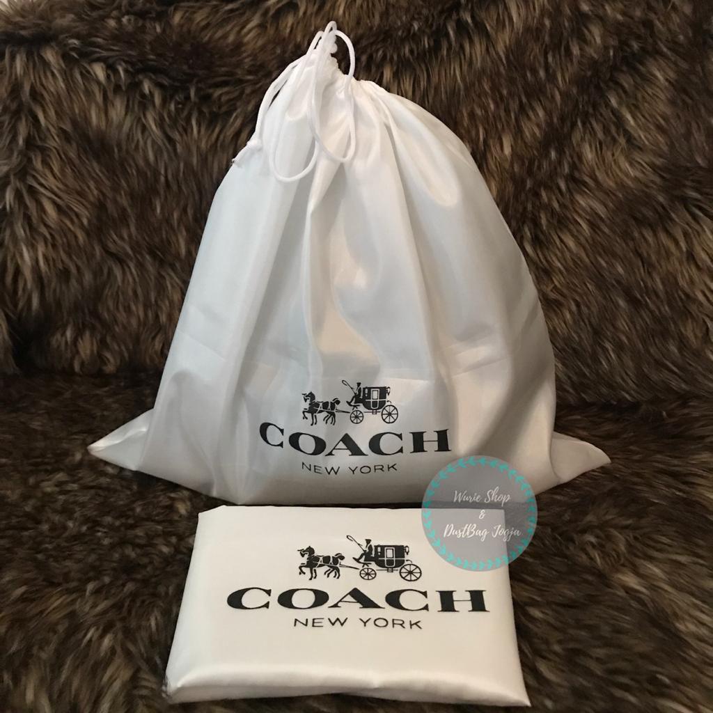 Coach Xsatinx ผ้าคลุมกระเป๋ากันฝุ่นสําหรับ Db