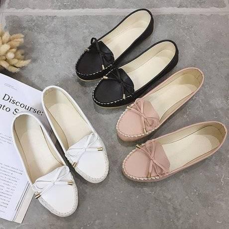 ✨✨ คัชชูหัวมน ผู้หญิง รองเท้าส้นสูงแฟชั่นขายดี รองเท้าคัชชูส้นสูง  F033 ✨✨