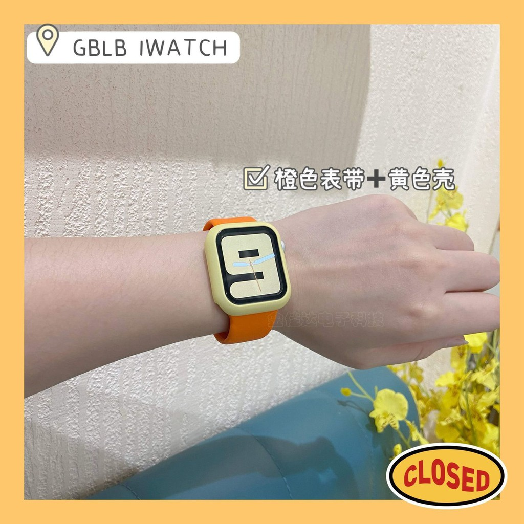 สายนาฬิกาข้อมือซิลิโคนสําหรับ Applewatch3-6 Generation Se
